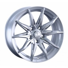 LS-Wheels 1055 7,0х16 PCD:5x114,3  ET:42 DIA:67.1 цвет:SF (серебро,полировка)