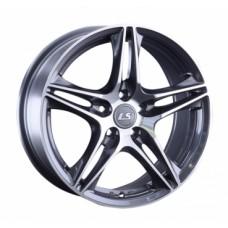 LS-Wheels 1056 6,5х15 PCD:5x100  ET:40 DIA:57.1 цвет:GMF (темно-серый,полировка)