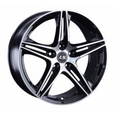LS-Wheels 1056 6,5х15 PCD:5x100  ET:40 DIA:57.1 цвет:BKF (черный)