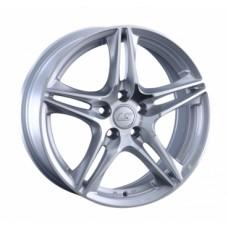 LS-Wheels 1056 6,5х15 PCD:5x100  ET:40 DIA:57.1 цвет:SF (серебро,полировка)