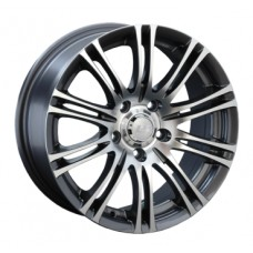 LS-Wheels 146 7,0х16 PCD:5x114,3  ET:40 DIA:73.1 цвет:GMF (темно-серый,полировка)