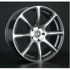 LS-Wheels 327 7,5х17 PCD:5x114,3  ET:40 DIA:73.1 цвет:GMF (темно-серый,полировка)