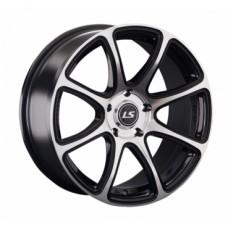 LS-Wheels 327 7,5х17 PCD:5x114,3  ET:40 DIA:73.1 цвет:BKF (черный)