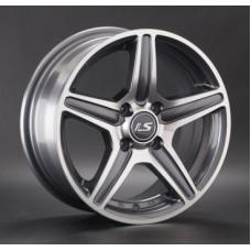 LS-Wheels 345 7,0х16 PCD:4x108  ET:27 DIA:65.1 цвет:GMF (темно-серый,полировка)