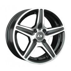 LS-Wheels 345 7,0х16 PCD:4x108  ET:27 DIA:65.1 цвет:BKF (черный)