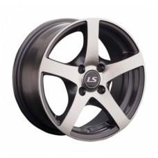 LS-Wheels 357 6,0х14 PCD:4x98  ET:35 DIA:58.6 цвет:GMF (темно-серый,полировка)