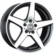 LS-Wheels 360 7,0х16 PCD:4x100  ET:40 DIA:73.1 цвет:BKF (черный)