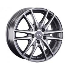 LS-Wheels 362 6,0х15 PCD:5x100  ET:40 DIA:57.1 цвет:GMF (темно-серый,полировка)