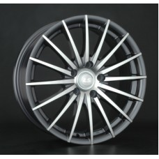 LS-Wheels 367 7,0х16 PCD:4x100  ET:40 DIA:73.1 цвет:GMF (темно-серый,полировка)