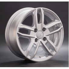 LS-Wheels 376 6,0х14 PCD:4x98  ET:35 DIA:58.6 цвет:SF (серебро,полировка)