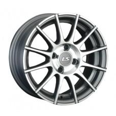 LS-Wheels 403 7,0х16 PCD:5x100  ET:38 DIA:57.1 цвет:GMF (темно-серый,полировка)