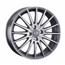 LS-Wheels 425 6,0х16 PCD:4x100  ET:50 DIA:54.1 цвет:GMF (темно-серый,полировка)