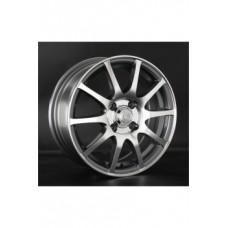LS-Wheels 535 6,0х15 PCD:4x100  ET:40 DIA:73.1 цвет:SF (серебро,полировка)