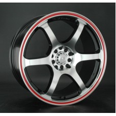 LS-Wheels 544 8,5х18 PCD:5x100  ET:40 DIA:73.1 цвет:BKFRL