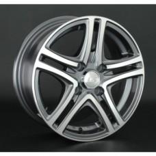 LS-Wheels 570 6,0х14 PCD:4x100  ET:40 DIA:73.1 цвет:GMF (темно-серый,полировка)