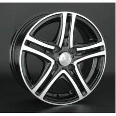 LS-Wheels 570 6,5х15 PCD:4x108  ET:27 DIA:73.1 цвет:BKF (черный)