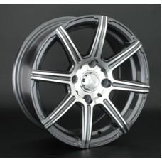 LS-Wheels 571 6,0х14 PCD:4x98  ET:35 DIA:58.6 цвет:GMF (темно-серый,полировка)