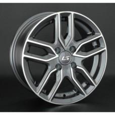 LS-Wheels 735 6,5х15 PCD:5x114,3  ET:40 DIA:73.1 цвет:GMF (темно-серый,полировка)