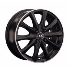 LS-Wheels 741 6,0х15 PCD:4x100  ET:48 DIA:73.1 цвет:BKL