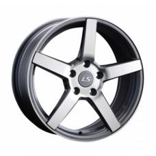 LS-Wheels 742 7,5х17 PCD:5x114,3  ET:45 DIA:67.1 цвет:GMF (темно-серый,полировка)