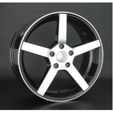 LS-Wheels 742 8,0х18 PCD:5x112  ET:40 DIA:66.6 цвет:BKF (черный)
