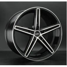 LS-Wheels 749 8,5х19 PCD:5x112  ET:40 DIA:66.6 цвет:BKF (черный)