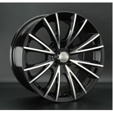 LS-Wheels 751 7,0х16 PCD:4x100  ET:40 DIA:73.1 цвет:BKF (черный)