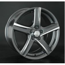 LS-Wheels 758 7,0х16 PCD:5x100  ET:35 DIA:73.1 цвет:GMF (темно-серый,полировка)