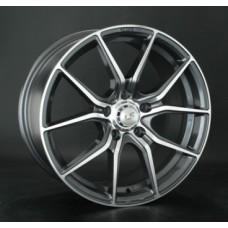 LS-Wheels 759 7,5х17 PCD:5x114,3  ET:45 DIA:73.1 цвет:GMF (темно-серый,полировка)