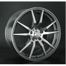 LS-Wheels 762 8,0х18 PCD:5x112  ET:40 DIA:66.6 цвет:GMF (темно-серый,полировка)
