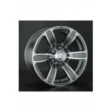 LS-Wheels 766 8,0х17 PCD:6x139,7  ET:10 DIA:107.1 цвет:GMF (темно-серый,полировка)