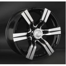 LS-Wheels 767 8,0х17 PCD:6x139,7  ET:10 DIA:106.1 цвет:BKF (черный)