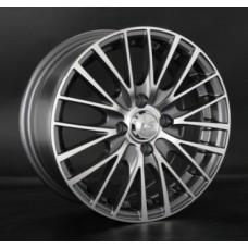 LS-Wheels 768 6,5х15 PCD:4x100  ET:45 DIA:54.1 цвет:GMF (темно-серый,полировка)