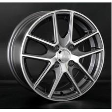 LS-Wheels 771 6,5х15 PCD:5x114,3  ET:45 DIA:73.1 цвет:GMF (темно-серый,полировка)