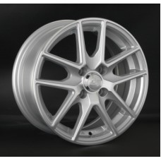 LS-Wheels 771 6,0х14 PCD:4x100  ET:40 DIA:73.1 цвет:SF (серебро,полировка)