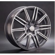 LS-Wheels 773 6,5х17 PCD:5x108  ET:52,5 DIA:63.3 цвет:GMF (темно-серый,полировка)