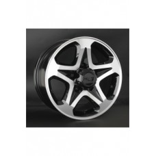 LS-Wheels 774 7,0х16 PCD:5x139,7  ET:5 DIA:108.5 цвет:BKF (черный)