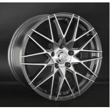 LS-Wheels 784 6,5х15 PCD:4x100  ET:45 DIA:54.1 цвет:GMF (темно-серый,полировка)