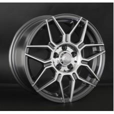 LS-Wheels 785 6,5х15 PCD:4x108  ET:45 DIA:63.3 цвет:GMF (темно-серый,полировка)