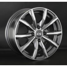LS-Wheels 786 6,5х15 PCD:4x100  ET:40 DIA:60.1 цвет:GMF (темно-серый,полировка)