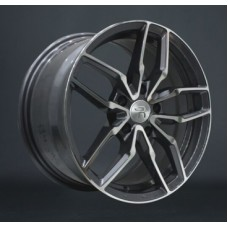 LS-Wheels 790 7,5х17 PCD:5x112  ET:40 DIA:66.6 цвет:GMF (темно-серый,полировка)