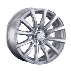 LS-Wheels 792 6,0х14 PCD:4x98  ET:35 DIA:58.6 цвет:SF (серебро,полировка)