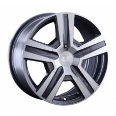 LS-Wheels 794 7,0х16 PCD:5x139,7  ET:30 DIA:98.5 цвет:GMF (темно-серый,полировка)