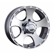 LS-Wheels 795 7,0х16 PCD:5x139,7  ET:5 DIA:108.5 цвет:GMF (темно-серый,полировка)