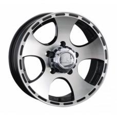LS-Wheels 795 7,0х16 PCD:5x139,7  ET:5 DIA:108.5 цвет:BKF (черный)