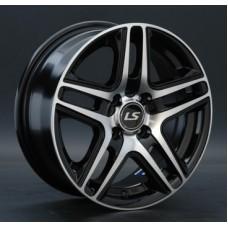 LS-Wheels 802 6,5х15 PCD:4x108  ET:27 DIA:65.1 цвет:BKF (черный)