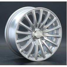 LS-Wheels 804 6,0х14 PCD:4x98  ET:35 DIA:58.6 цвет:SF (серебро,полировка)