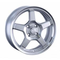 LS-Wheels 816 6,5х15 PCD:4x100  ET:45 DIA:60.1 цвет:SF (серебро,полировка)