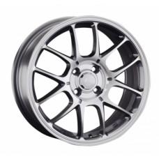 LS-Wheels 817 7,0х16 PCD:4x100  ET:42 DIA:73.1 цвет:GMF (темно-серый,полировка)