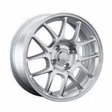 LS-Wheels 817 6,5х15 PCD:4x100  ET:40 DIA:73.1 цвет:SF (серебро,полировка)